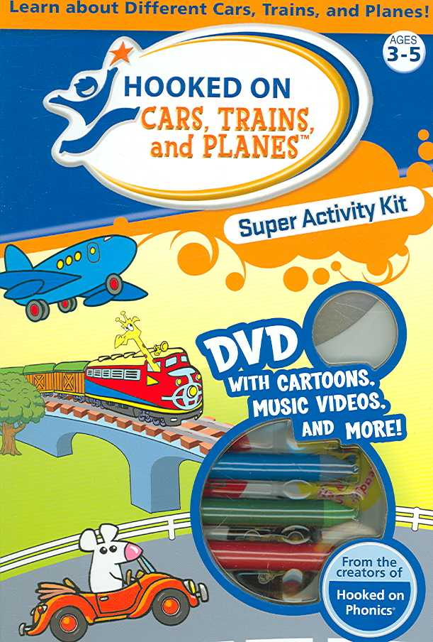 HOOKED ON CARS TRAINS AND PLANES SUPE (DVD)